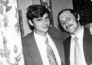 С двоюродным братом Владимиром. 1975 г.