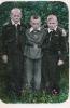 С двоюродными братьями Витей и Володей. Лето 1957 г.