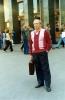 У метро Театральная. 2001 год