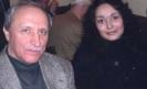 С поэтессой Ольгой Журавлевой. 2004 г.